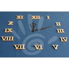 Цифры ПРЕМИУМ римские простые 4 см №30-0029