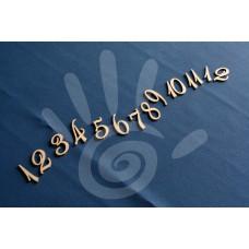 Цифры арабские Элегантные 4 см №30-0027