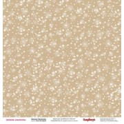 Бумага для скрапбукинга 30,5х30,5 см 180 гр/м двусторон Зимние Каникулы Зимние Каникулы