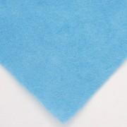 Фетр декоративный 1мм, жесткий, голубой