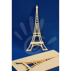 Декоративный элемент Эйфелева башня картон №33-0041