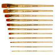 Кисти синтетика Mr.Painter SBF 204-06 плоская №6