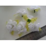 Роза 4,5см, белая