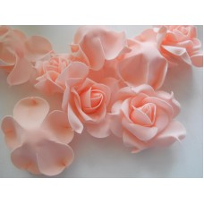 Роза нежно-розовая, фом
