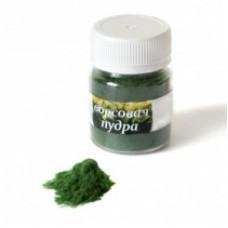 Ворсовая пудра зеленая. 10 гр.