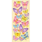 Наклейки Mr.Painter   Трехмерные   DAS  04 Бабочки