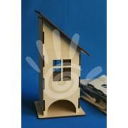 Домик для чайных пакетиков (квадратные окошки) №21-0010