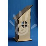 Домик для чайных пакетиков (круглые окошки) №21-0014