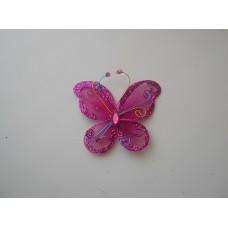Бабочка копроновая розовая