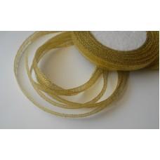 Лента-парча золото 0,6см