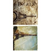 Бумага для декупажа,  Париж F-0280