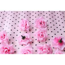 Роза 4см розовая