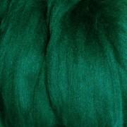 Пряжа LG_Wool (ЛГ Шерсть) для валяния   100% шерсть   100 г 0062  т.зеленый