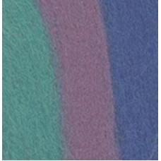 Пряжа MY-050   Шерсть для валяния   100% мериносовая шерсть   50 г №6024св.голубой/розовый/бирюза