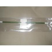 Проволока зеленая №26, 30 см, 100 шт