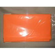 Иранский фоамиран, лист 60х70см, Апельсиновый