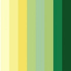 Бумага для квиллинга Mr.Painter A 08-1.5-200 1.5 мм  350 мм набор №3 Желто-зеленый микс