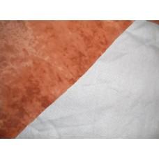 Флоковая ткань, цвет тыквенный.