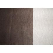 Жаккардовая синтетическая ткань, коричневая