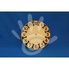 Заготовка для часов Арабские круги 25 см ф3-4 №08-0093