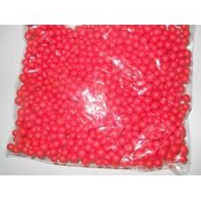 Шарики пенопластовые 7-9мм, красный