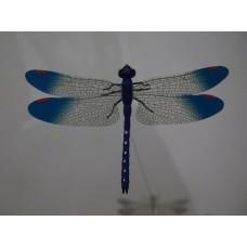 Стрекоза 14см синий