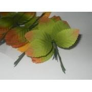 Листья 10шт зеленый