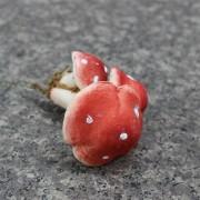 Грибочки декоративные красные