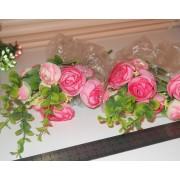 Букет розовых камелий