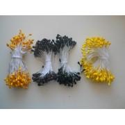 Тычинки темно-желтые, 70шт