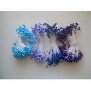 Тычинки голубые, 70шт
