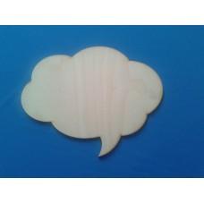 Панно Речевое облако 30*23,5 см ф3-4 №18-0133