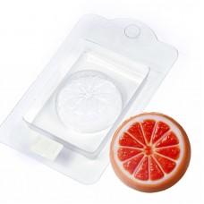 Пластиковая форма для мыла Апельсин сочный