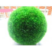 Сфера с зеленью фиолетовая 17см