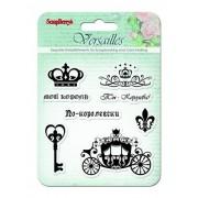 Набор штампов 10,5*10,5см Версаль. Король и Королева