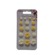 Набор объемных цветочков, Цветочная вышивка 2