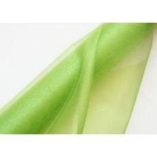 Органза флористическая 48см, цвет зеленая