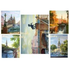 Карта для декупажа Питерские мосты №27-0044-1