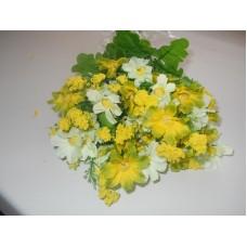Букет, Ромашки белые и зелено-желтые